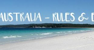 Australian Beach Rules And Etiquette
